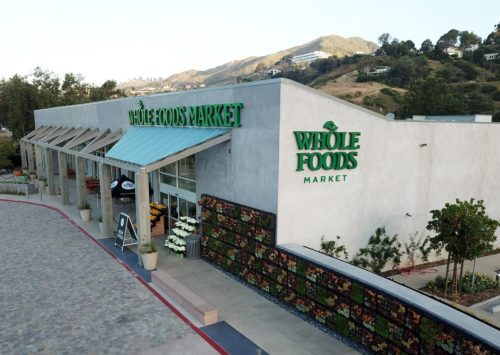 Malibu Whole Foods and the Park Shopping Center